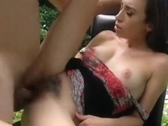 Czech Babe Pounded In Public For Money