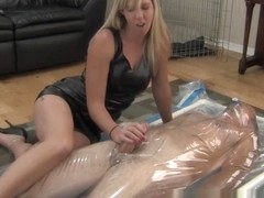 Vacuum Bed CBT Ruined Orgasm