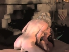 Naughty babe Claudia Adams gets nailed in a blazing fuck fest