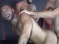 Crazy gay video with Bareback, Hunk scenes