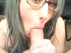 Fabulous exclusive cheating, oral, motel porn video