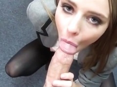 Pretty Assistant Ava Hardy Takes Big Rod Of Boss