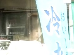 Beautiful Asian slut gets publicly sharked on the streets of Tokyo