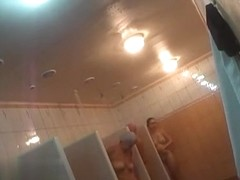 Hidden cameras in public pool showers 379