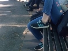 compilation of sexy shoeplay and dangling