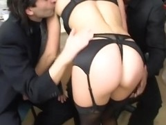 Best pornstar in horny big tits, lingerie adult movie