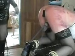 Hottest homemade shemale scene with BDSM, Stockings scenes