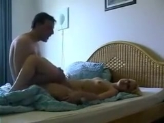 I fuck nextdoor girl in missionary pose after blowjob