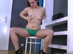 Horny pornstar Corazon Del Angel in Hottest Hairy, Brunette adult video