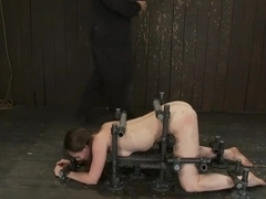 OMEGA fucks another tiny brunette into sub space!