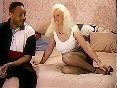 Jan and her paramour foreplay and masturbation then that babe is screwed by his bigcock