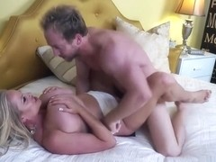 KELLYMADISON - Kelly Bounces Her Huge Naturals For A Mouthful Of Cum