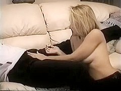 Brunette Hair Hair youthful playgirl can't live without to show fuck with friend on camera