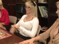 Heidi Mayne and Brooke Haven in Mature MILF Video