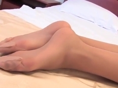 sexy feet in pantyhose 3