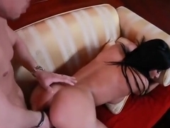 Pleasing dusky French mom Anissa Kate in a genuine hard core video