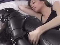 PVC Slut Cries From Her Fear & Terror