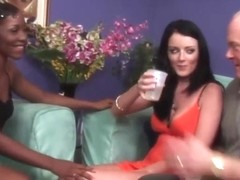 Amazing wives get swapped and fucked.