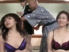 Exotic Japanese whore Chisato Shouda, Riri Kouda, Miki Kanzaki in Hottest Lingerie, Group Sex JAV .