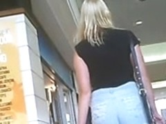 Candid Clothed Cut Down Shorts Ass Public