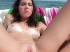 Fresh petite latina chick Natalia pussy banged on boat in pov