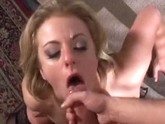 Exotic pornstar Angela Stone in amazing facial, blowjob xxx video